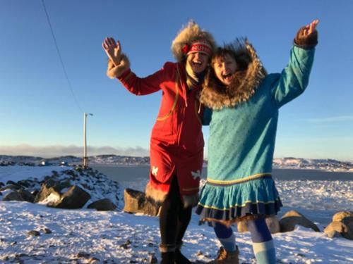 The two crazy Teachers who give 200hr Yoga Teacher certifications in Nunavut