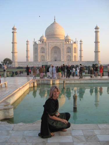 Been to the Taj Mahal several times.... magical every time....